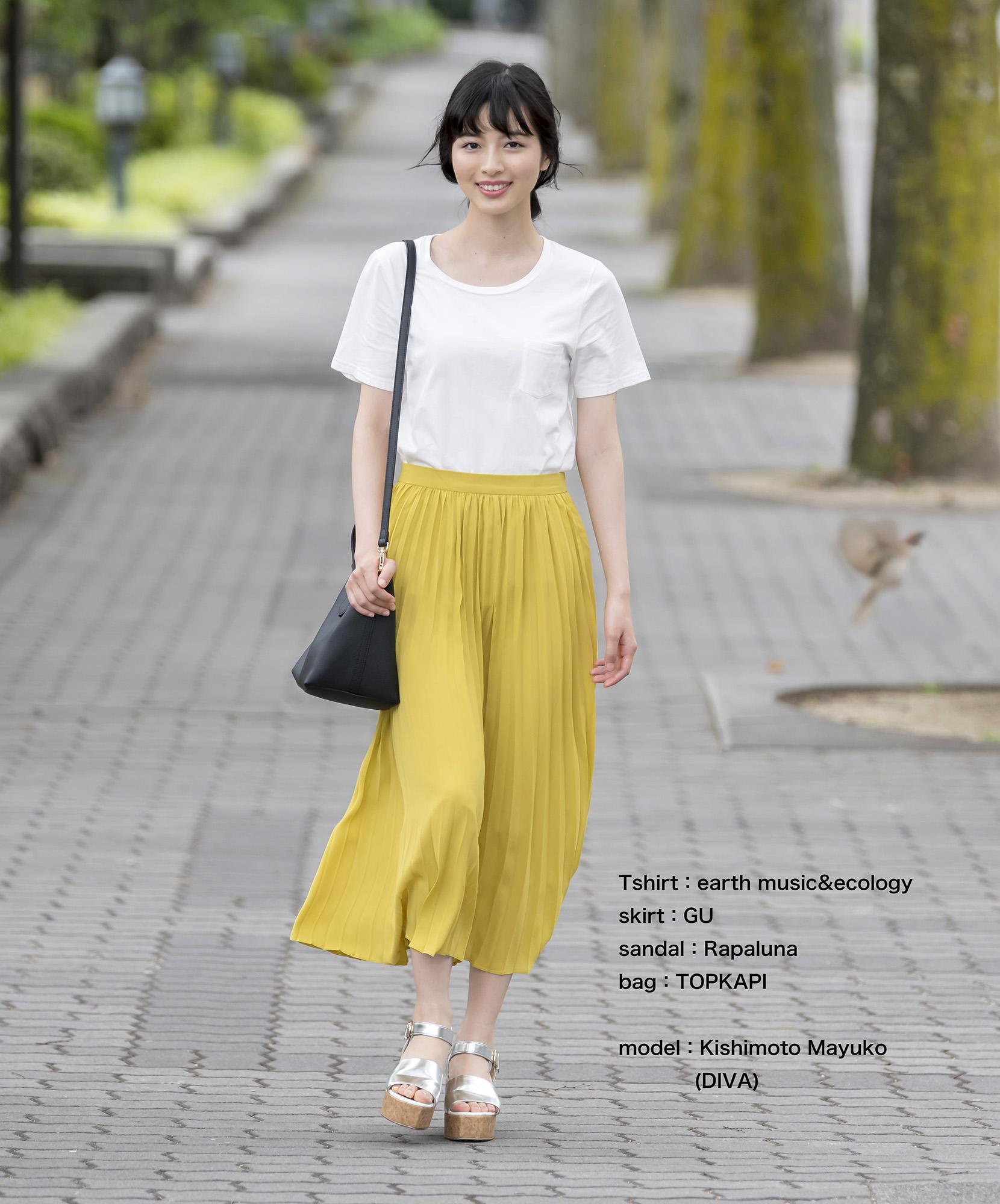 岸本真結子コーデ01-2